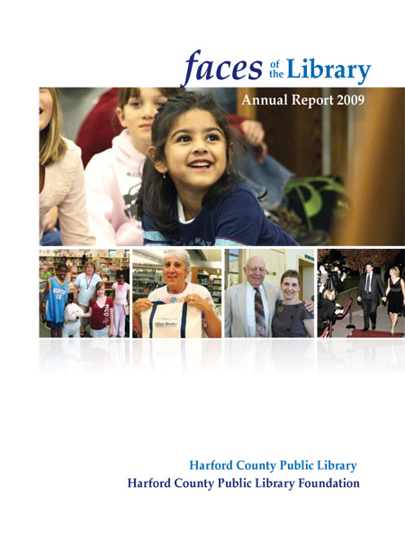 Faces of the Library: Annual Report 2009 Cover