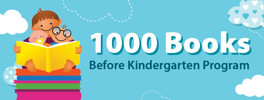 Image result for 1000 books before kindergarten library program
