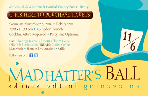 Purchase Tickets for the Mad Hatter's Ball - An Evening In The Stacks