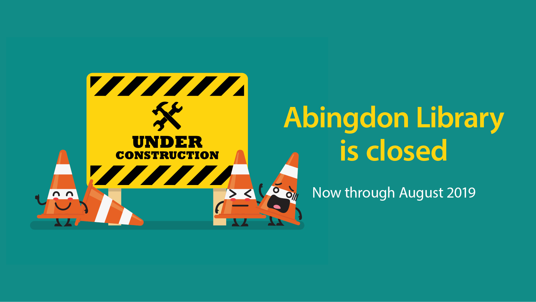 Abingdon Library Closed