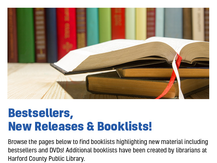 Booklists, Best Sellers & New Releases
