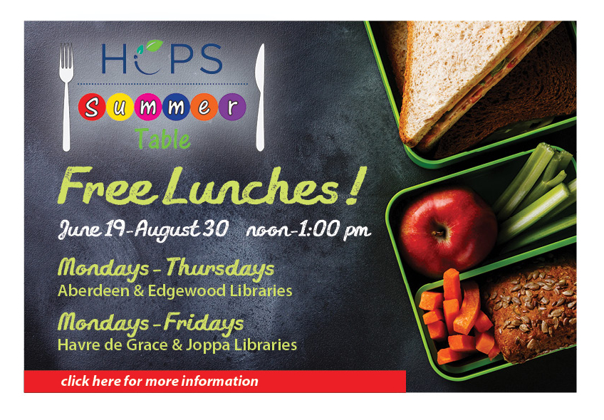 Harford County Schools Free Lunches