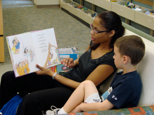 Photo from a story time visit